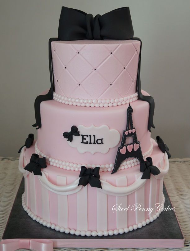Best ideas about Paris Birthday Cake . Save or Pin Paris Birthday Cake Style Pinterest Now.