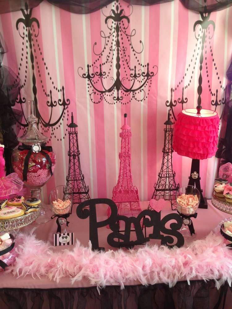 Best ideas about Paris Birthday Decorations . Save or Pin Paris Birthday Party Ideas 1 of 20 Now.