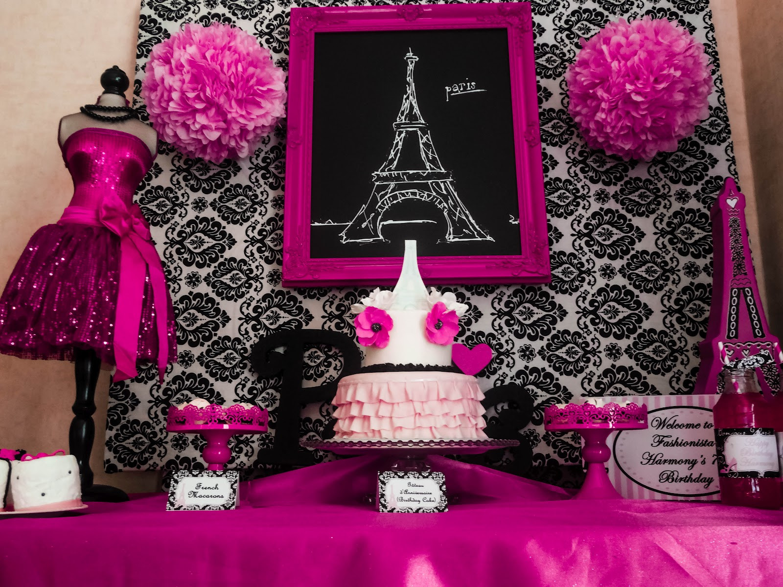Best ideas about Paris Birthday Decorations . Save or Pin Capes & Crowns A Paris Party Now.