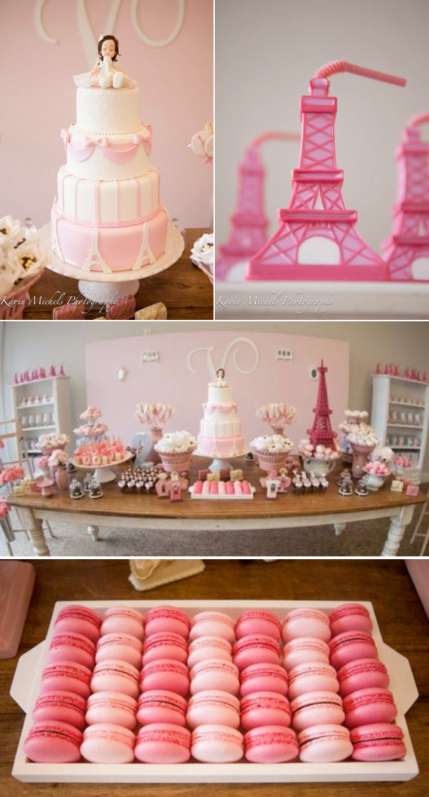 Best ideas about Paris Birthday Decorations . Save or Pin Kara s Party Ideas Pink Paris French Girl Birthday Party Now.