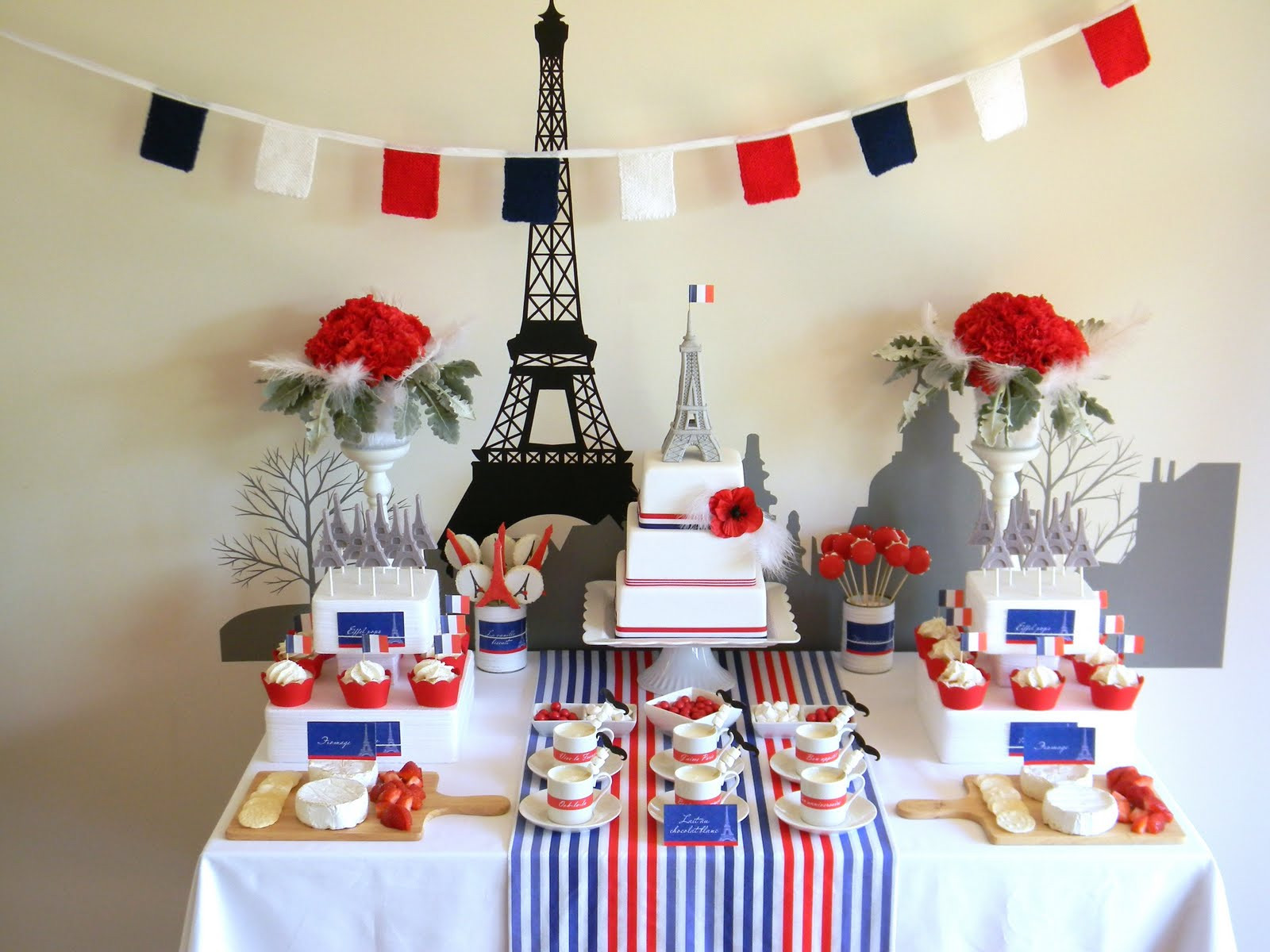 Best ideas about Paris Birthday Decorations . Save or Pin Just call me Martha Paris in winter lunch Now.