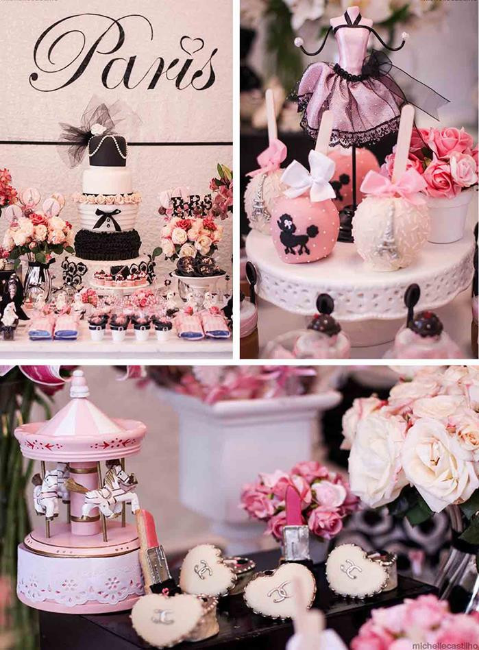 Best ideas about Paris Birthday Decorations . Save or Pin Kara s Party Ideas Pink Paris Birthday Party with Lots of Now.