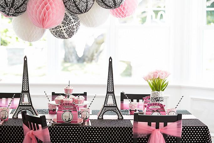 Best ideas about Paris Birthday Decorations . Save or Pin Paris Damask Celebration Now.