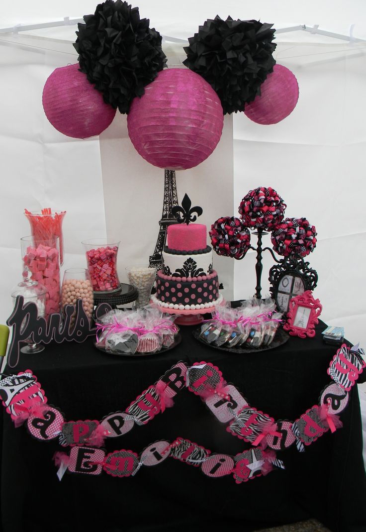 Best ideas about Paris Birthday Decorations . Save or Pin Southern Blue Celebrations Paris Party Now.