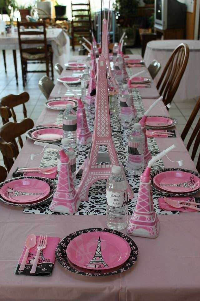 Best ideas about Paris Birthday Decorations . Save or Pin French Parisian Birthday Party Ideas Now.