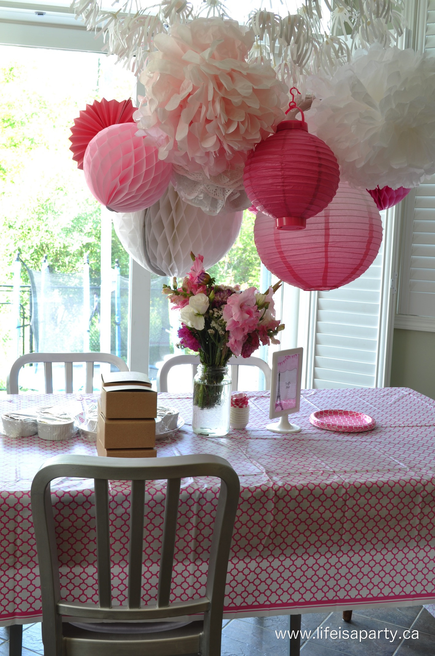 Best ideas about Paris Birthday Party . Save or Pin Paris Birthday Party Part e Party Activities and Now.