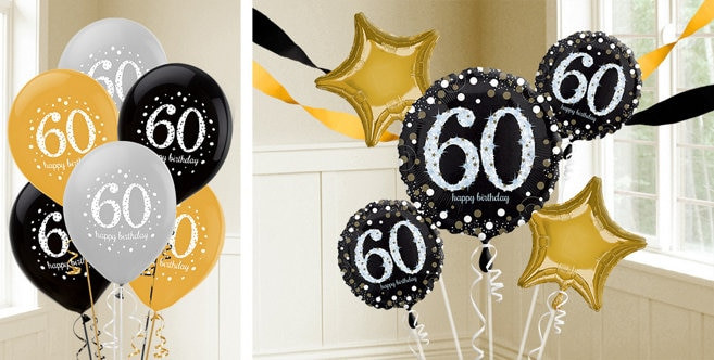 Best ideas about Party City 60th Birthday . Save or Pin 60th Birthday Balloons Party City Now.
