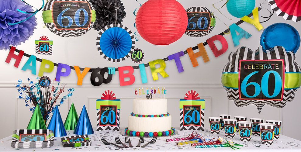 Best ideas about Party City 60th Birthday . Save or Pin Celebrate 60th Birthday Party Supplies 60th Birthday Now.