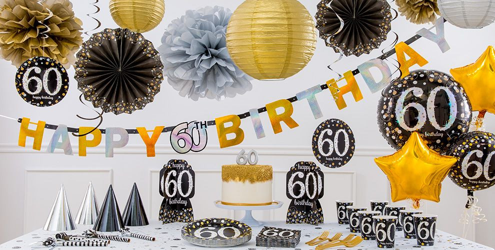 Best ideas about Party City 60th Birthday . Save or Pin Sparkling Celebration 60th Birthday Party Supplies Party Now.