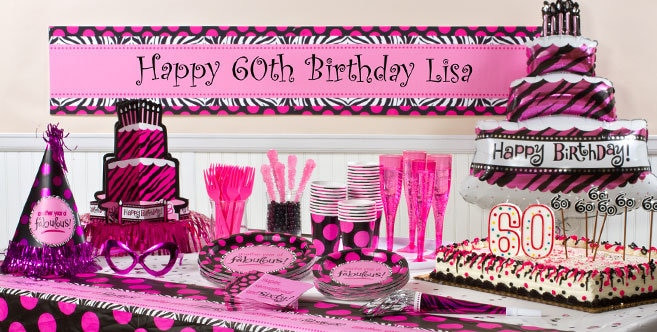 Best ideas about Party City 60th Birthday . Save or Pin 60th Birthday Party Decorations Now.