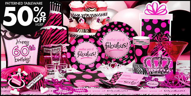 Best ideas about Party City 60th Birthday . Save or Pin Another Year of Fabulous 60th Birthday Party Supplies Now.