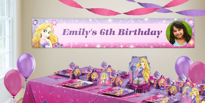 Best ideas about Party City Birthday Banners . Save or Pin Custom Tangled Birthday Banners Party City Now.