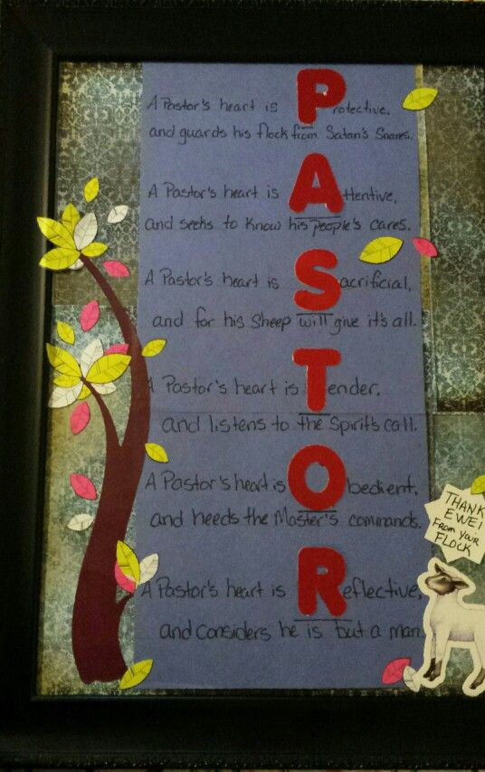 Best ideas about Pastor Appreciation Gift Ideas Pinterest . Save or Pin Best 25 Pastor appreciation ideas ideas on Pinterest Now.