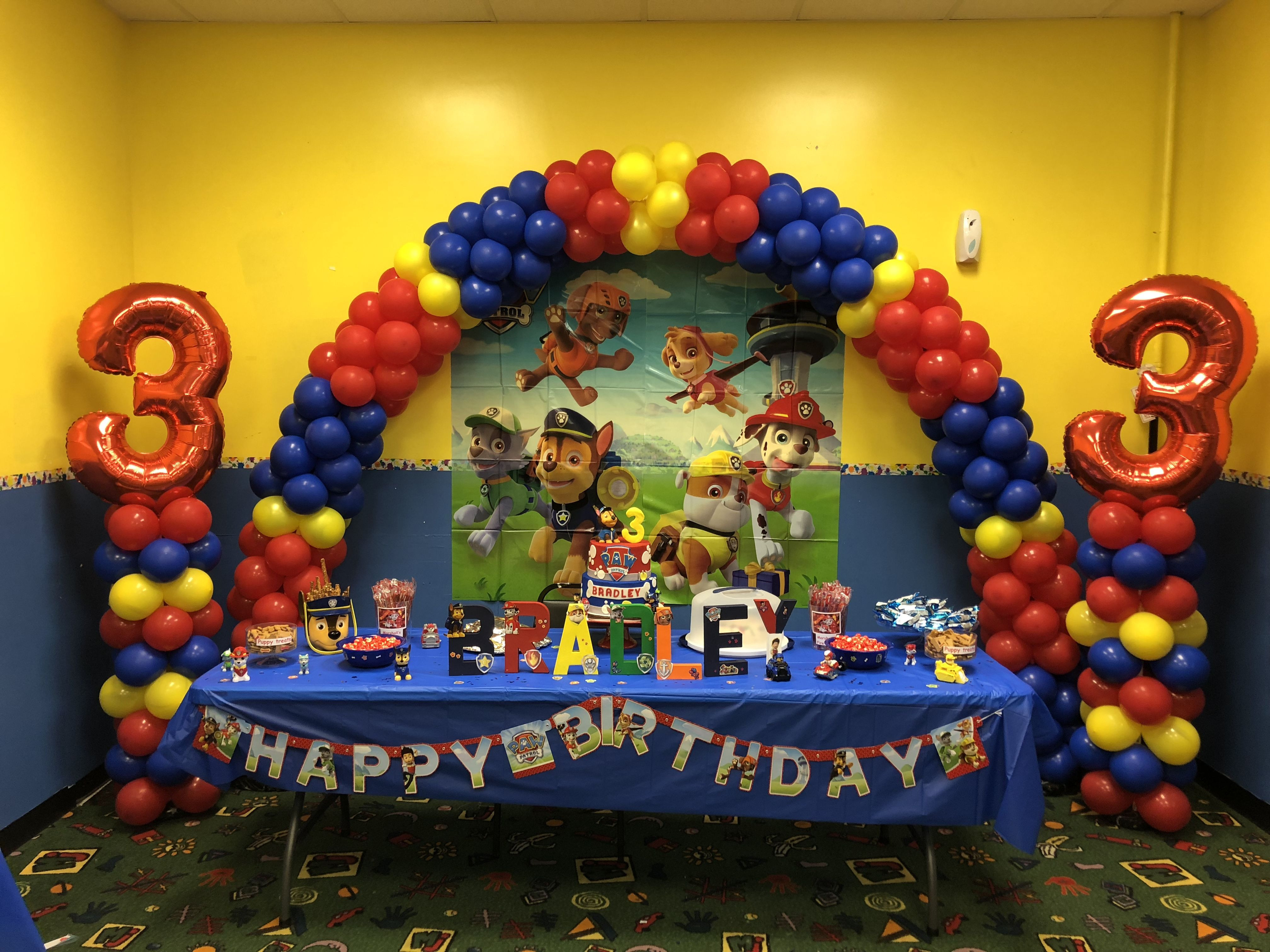 Best ideas about Paw Patrol Birthday Decor . Save or Pin Paw Patrol party decor ideas Party Ideas in 2019 Now.