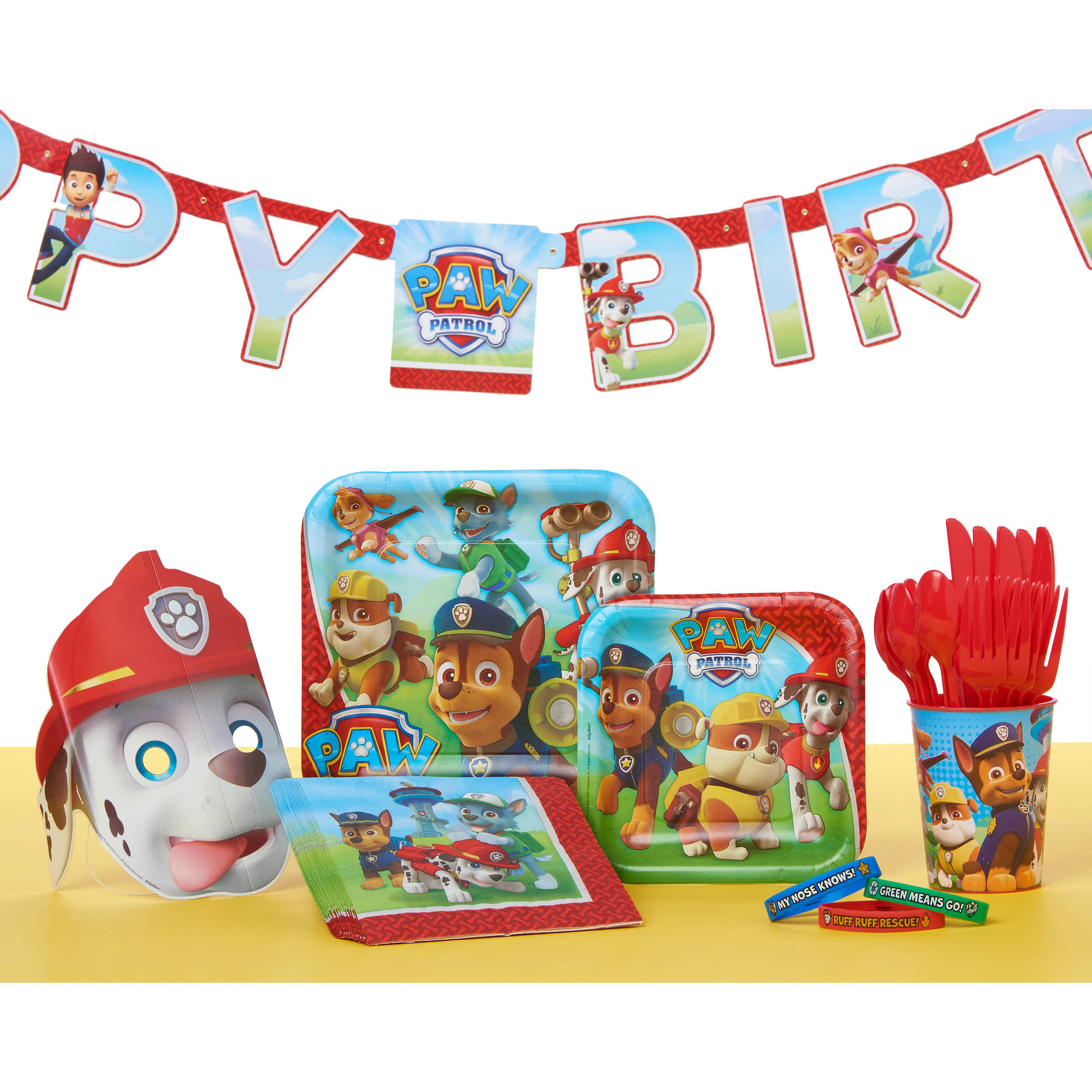 Best ideas about Paw Patrol Birthday Decor . Save or Pin PAW Patrol Party Supplies Walmart Now.