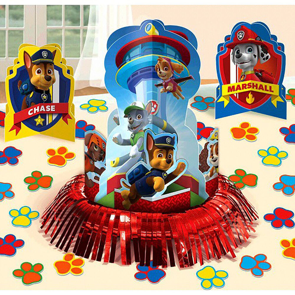 Best ideas about Paw Patrol Birthday Decor . Save or Pin 23pc Paw Patrol Table Decoration Kit Boys Birthday Party Now.