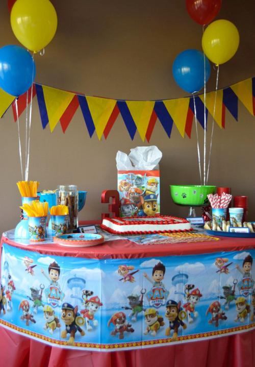 Best ideas about Paw Patrol Birthday Decor . Save or Pin Paw Patrol Birthday Party Idea Shindigz Now.