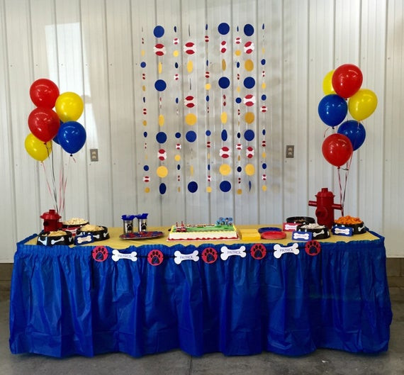 Best ideas about Paw Patrol Birthday Decor . Save or Pin Personalized Paw Patrol Birthday Party Banner by Now.