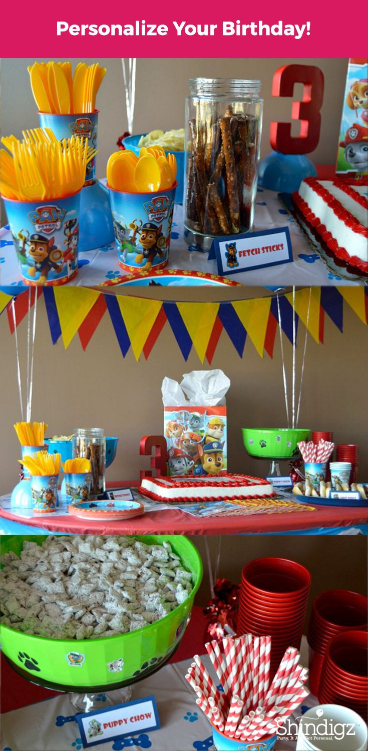 Best ideas about Paw Patrol Birthday Decor . Save or Pin Celebrate with the Paw Patrol pals with party supplies Now.