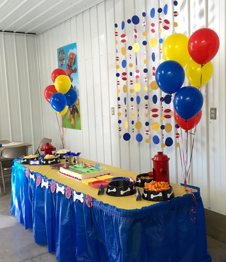 Best ideas about Paw Patrol Birthday Decor . Save or Pin 278 best images about Parties Paw Patrol on Pinterest Now.
