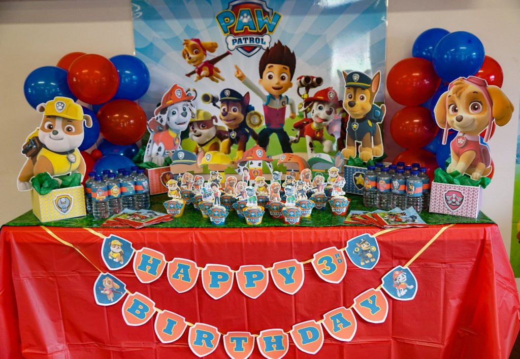 Best ideas about Paw Patrol Birthday Decor . Save or Pin DIY Paw Patrol Party Decoration Centerpieces Now.