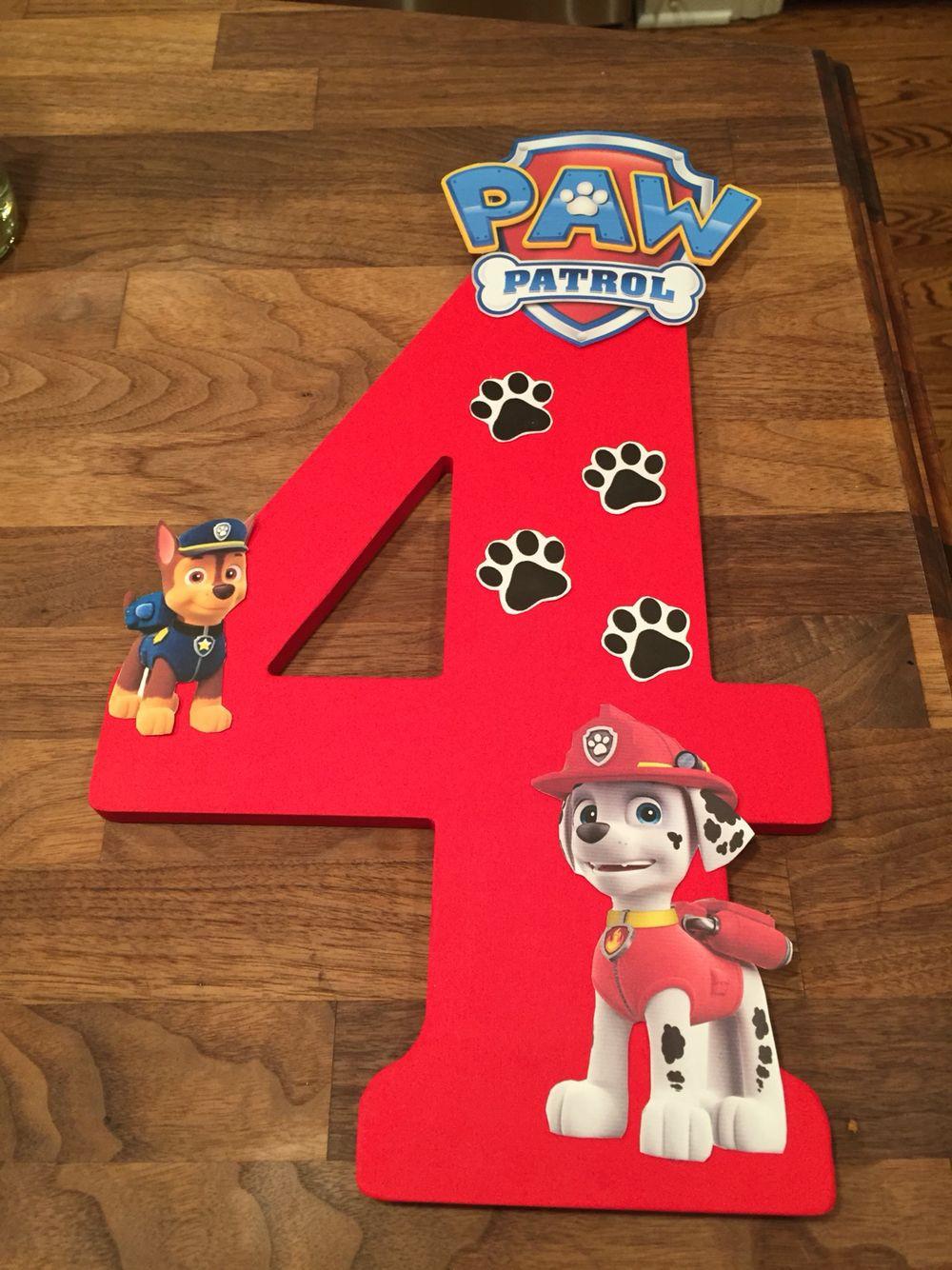 Best ideas about Paw Patrol Birthday Decor . Save or Pin DIY Paw Patrol Birthday Decoration What you need Now.