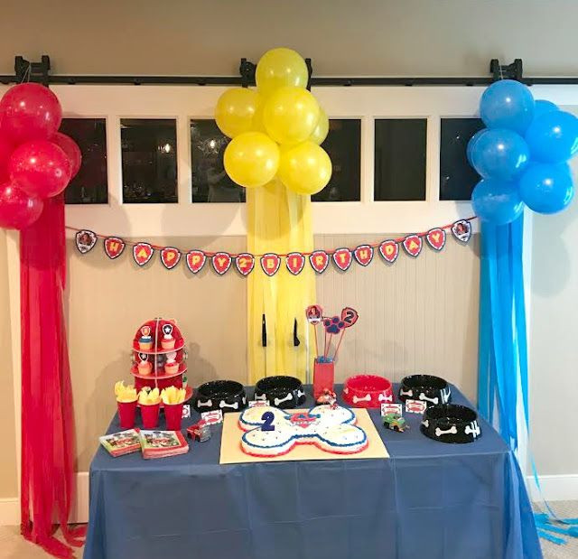 Best ideas about Paw Patrol Birthday Decor . Save or Pin Paw Patrol Birthday Party Now.