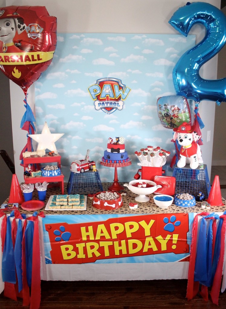 Best ideas about Paw Patrol Birthday Decor . Save or Pin Paw Patrol Birthday Party Amidst the Chaos Now.