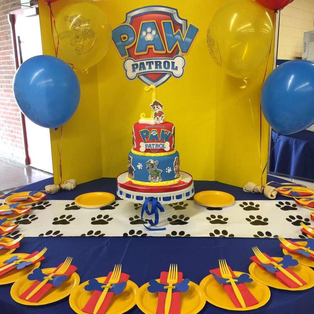 Best ideas about Paw Patrol Birthday Decor . Save or Pin Paw Patrol Birthday Party Ideas Now.