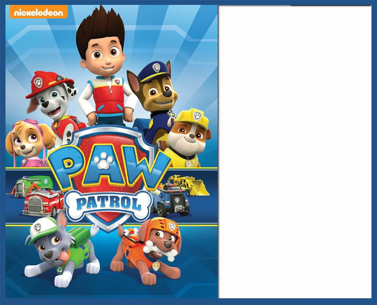 Best ideas about Paw Patrol Birthday Invitations With Photo . Save or Pin 8 Pawsome Paw Patrol Birthday Invitations Now.