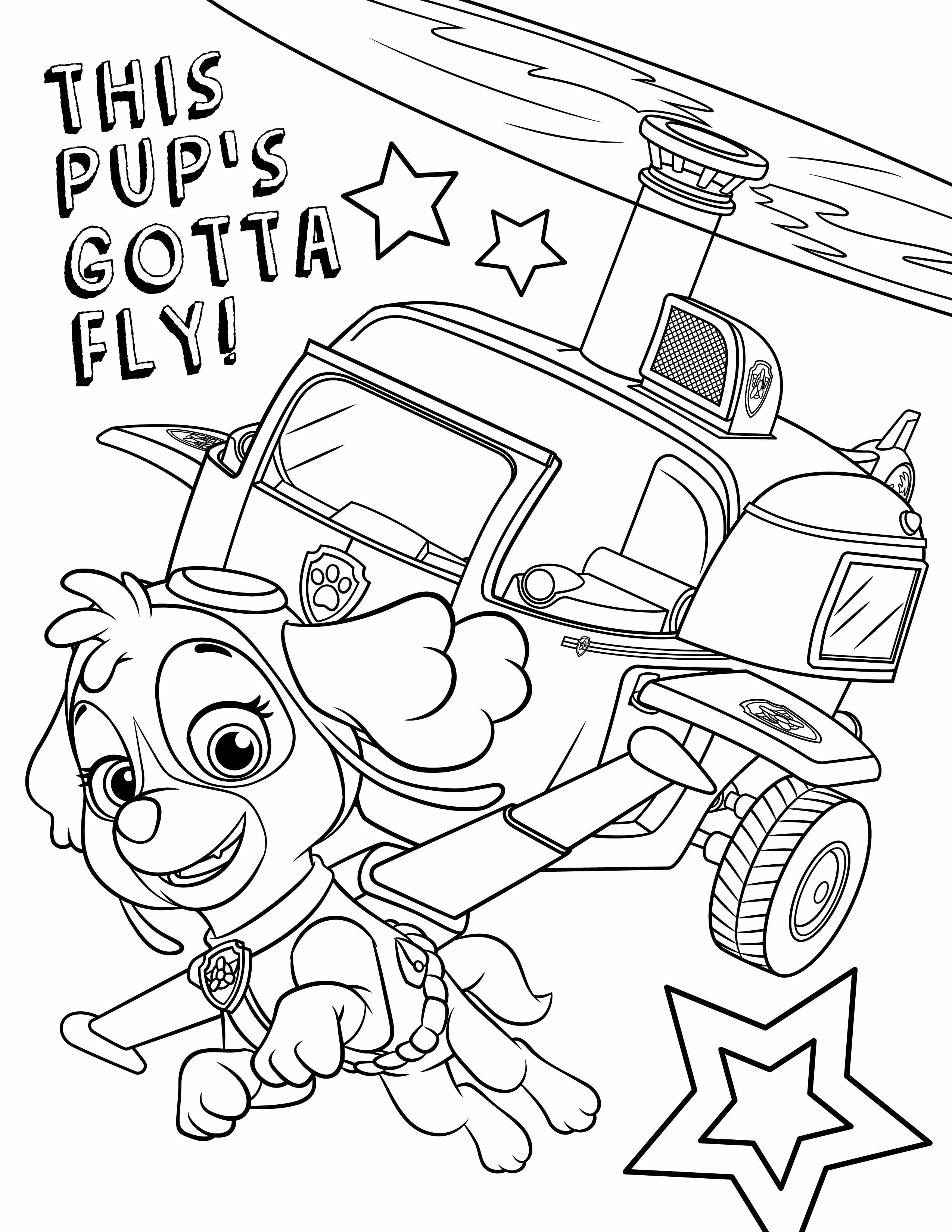 Best ideas about Paw Patrol Free Coloring Sheets . Save or Pin Free PAW Patrol Coloring Pages Now.