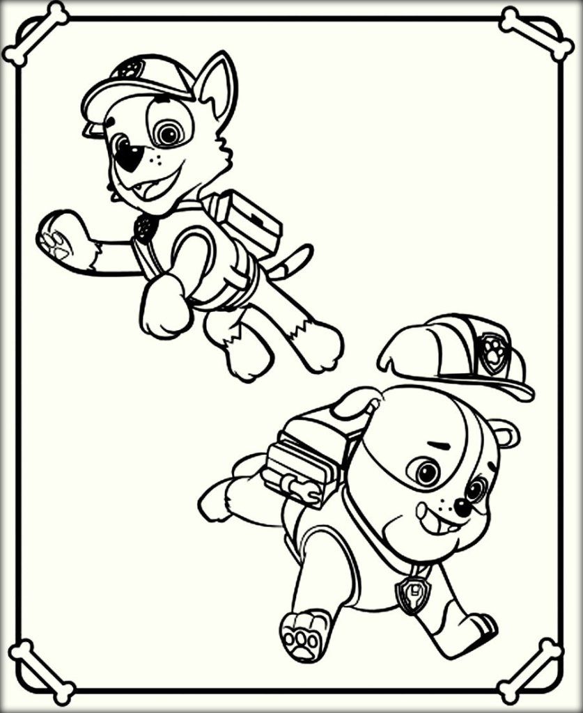 Best ideas about Paw Patrol Free Coloring Sheets . Save or Pin Paw Patrol Coloring Pages Color Zini Now.