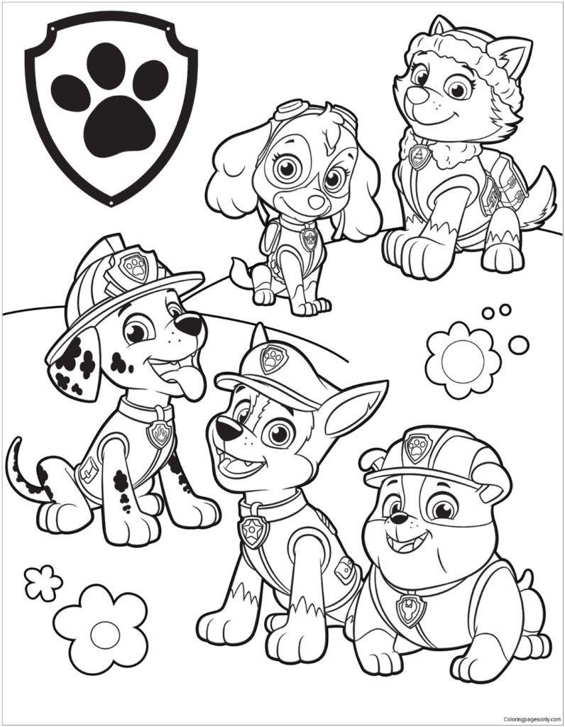 Best ideas about Paw Patrol Free Coloring Sheets . Save or Pin Paw Patrol Coloring Pages Now.