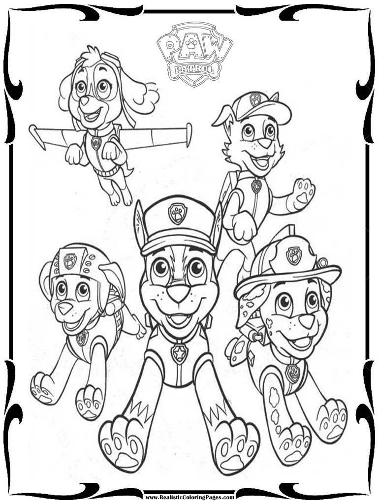 Best ideas about Paw Patrol Free Coloring Sheets . Save or Pin Paw Patrol Coloring Pages Printable Coloring Home Now.