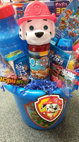 Best ideas about Paw Patrol Gift Ideas . Save or Pin Paw Patrol Gift Basket Now.