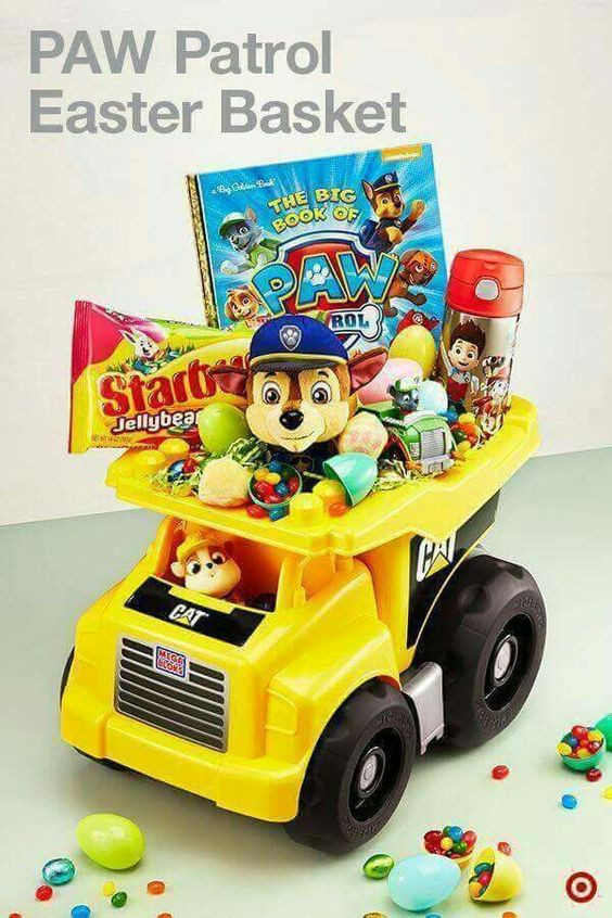 Best ideas about Paw Patrol Gift Ideas . Save or Pin Boy Easter basket Gifts Pinterest Now.