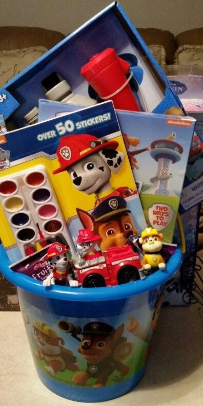 Best ideas about Paw Patrol Gift Ideas . Save or Pin Paw Patrol Easter basket Now.