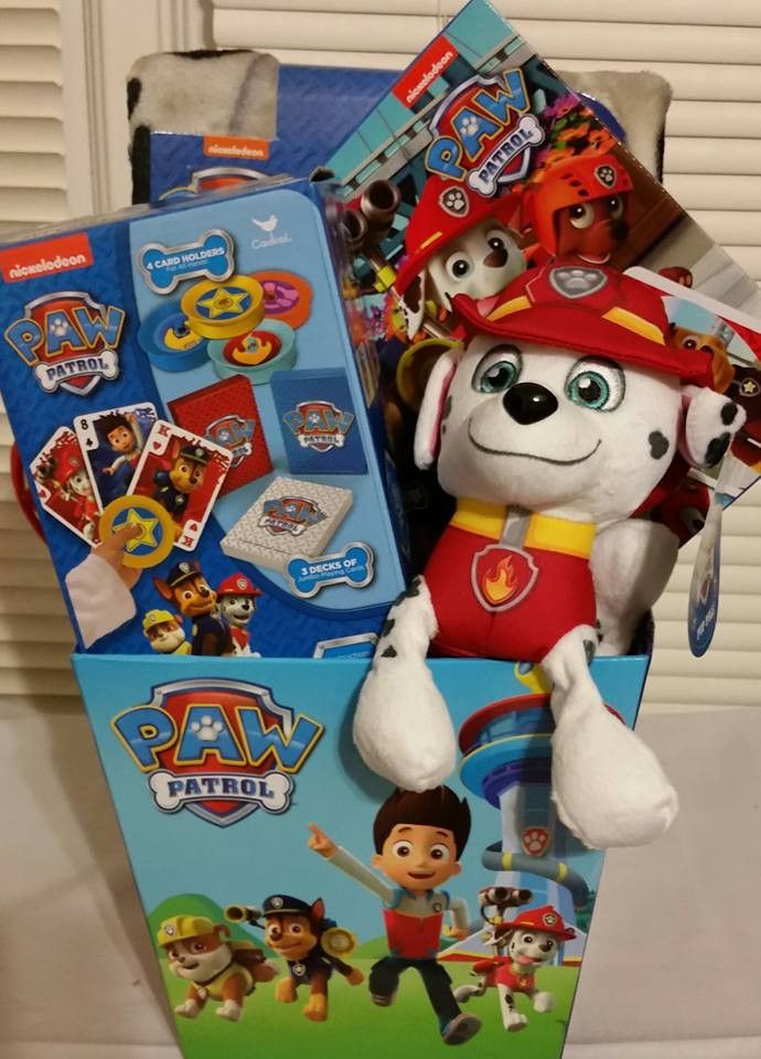 Best ideas about Paw Patrol Gift Ideas . Save or Pin Paw Patrol Gift Basket Products Pinterest Now.