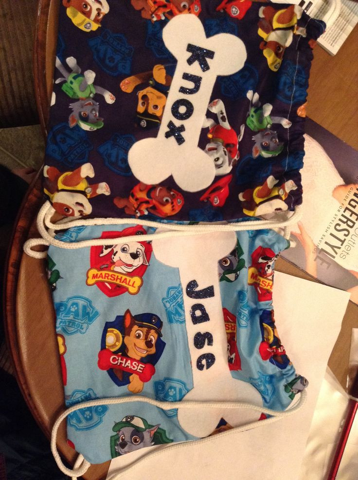 Best ideas about Paw Patrol Gift Ideas . Save or Pin Paw patrol t bags Walker s Party Pinterest Now.