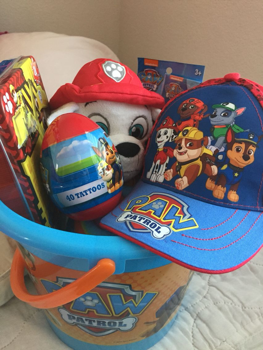 Best ideas about Paw Patrol Gift Ideas . Save or Pin The perfect Easter basket for little kids who love paw Now.