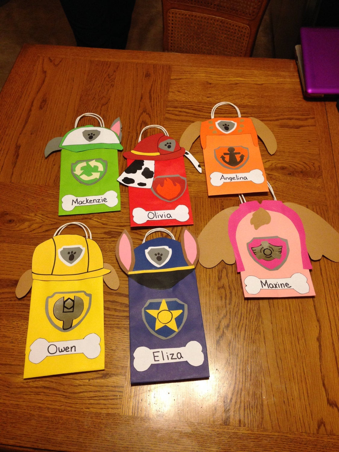Best ideas about Paw Patrol Gift Ideas . Save or Pin Paw Patrol t favor bags Now.