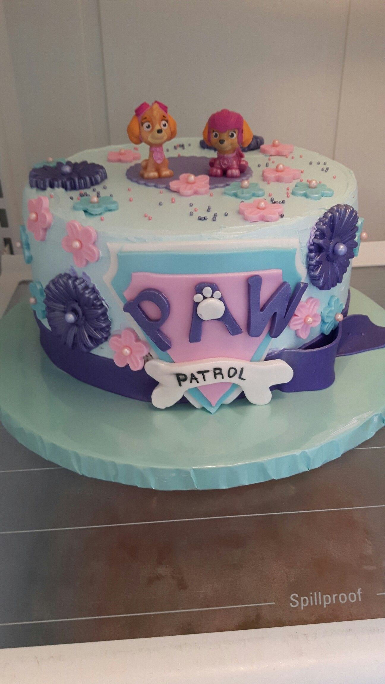 Best ideas about Paw Patrol Girl Birthday Cake . Save or Pin Girls paw patrol cake Cakes Now.
