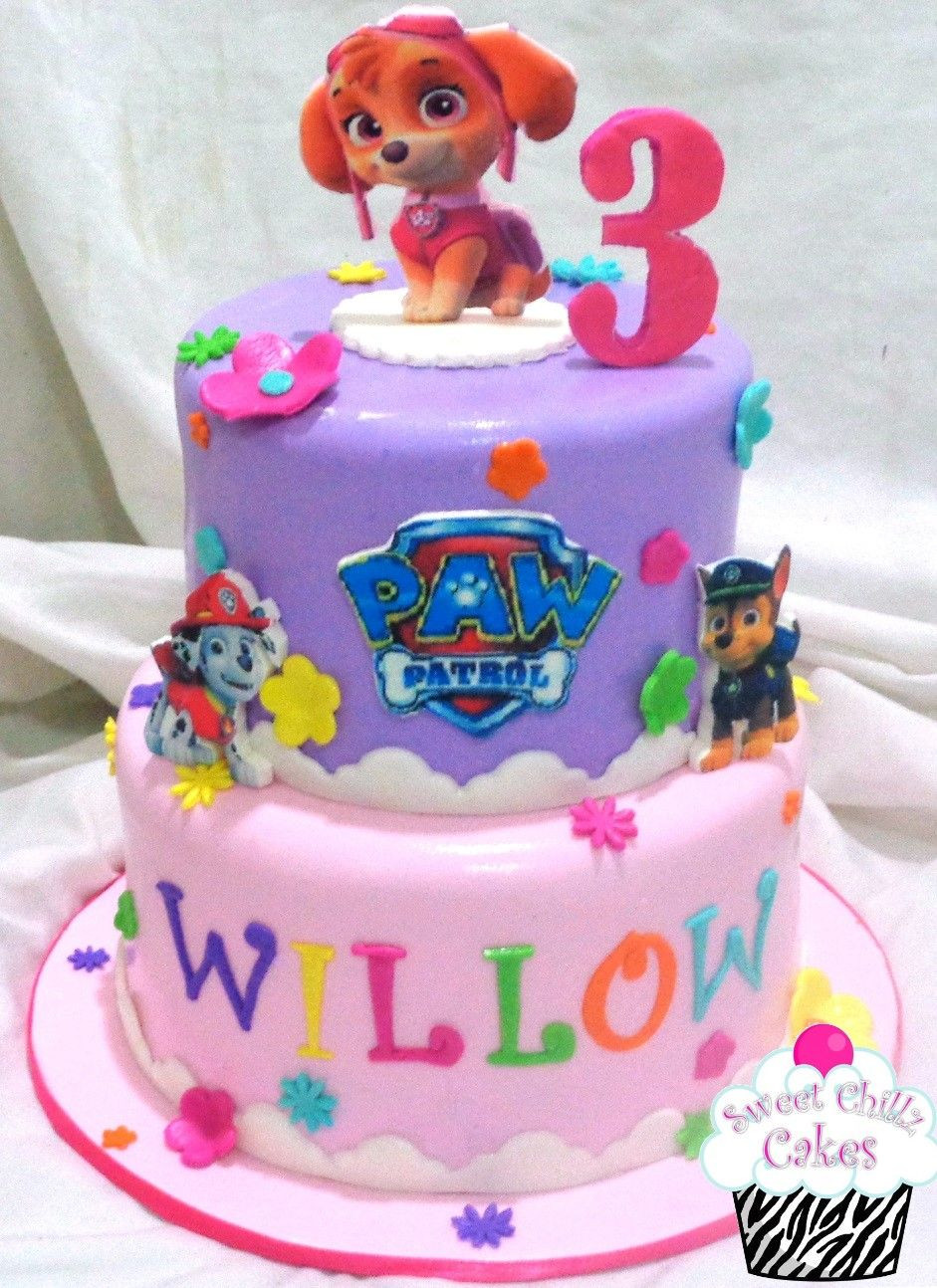 Best ideas about Paw Patrol Girl Birthday Cake . Save or Pin Skye Paw Patrol Cake Cakes in 2019 Now.