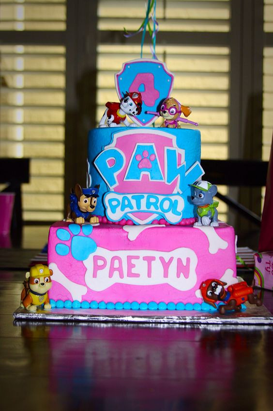 Best ideas about Paw Patrol Girl Birthday Cake . Save or Pin 10 Perfect Paw Patrol Birthday Cakes Pretty My Party Now.
