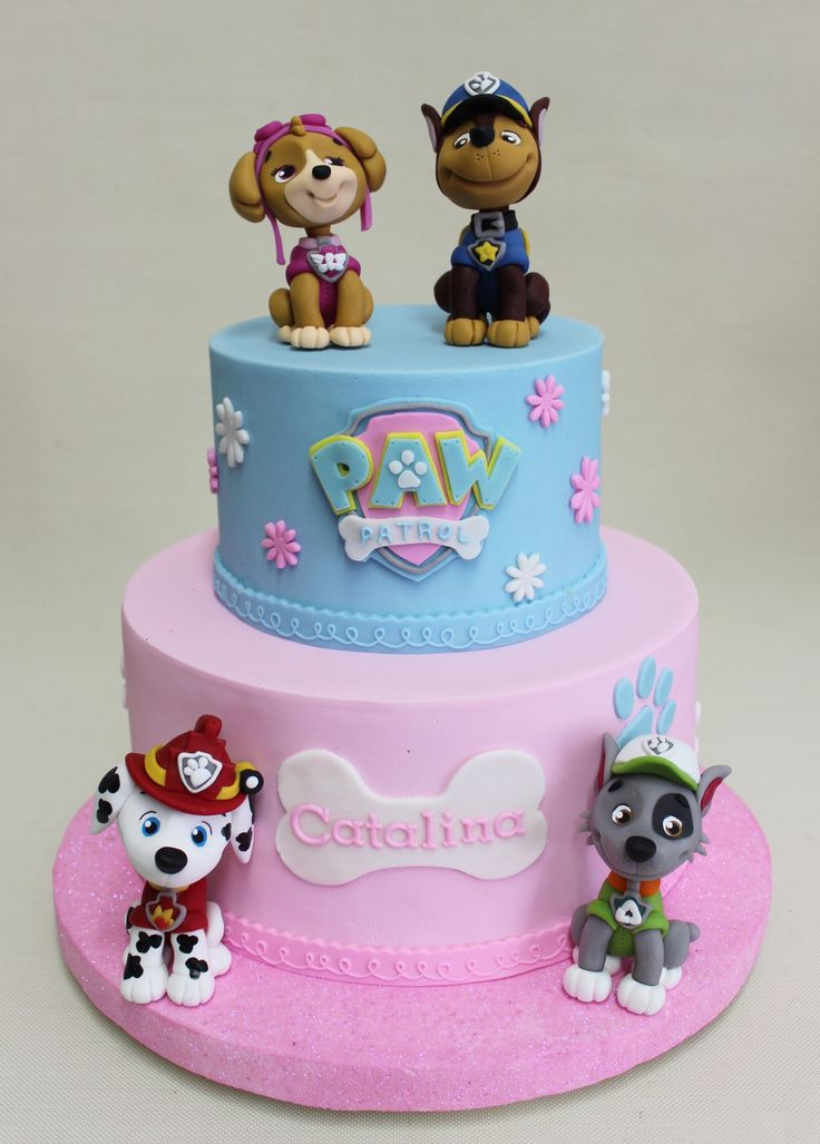 Best ideas about Paw Patrol Girl Birthday Cake . Save or Pin Best 25 Skye paw patrol cake ideas on Pinterest Now.