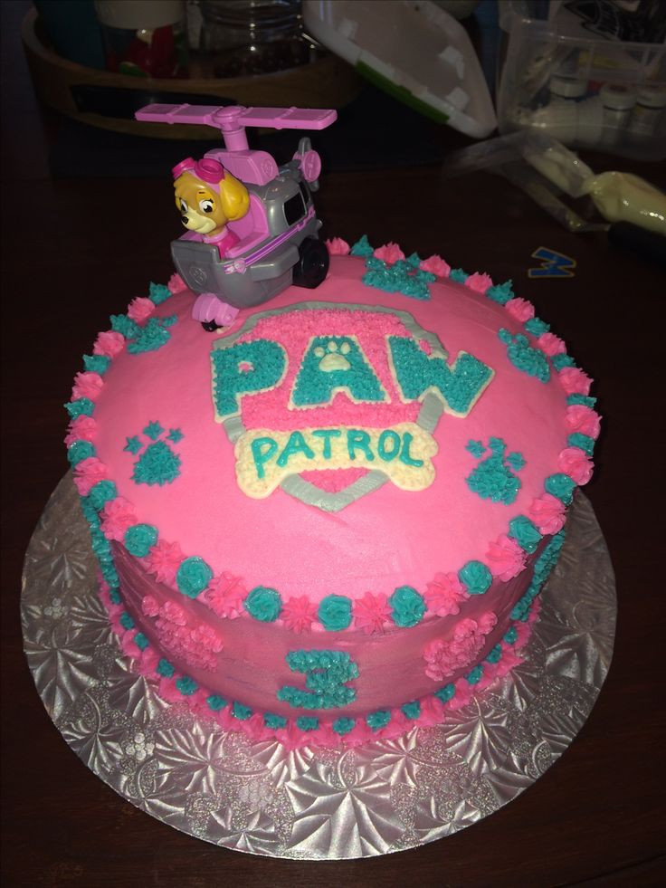 Best ideas about Paw Patrol Girl Birthday Cake . Save or Pin The 25 best Skye paw patrol cake ideas on Pinterest Now.
