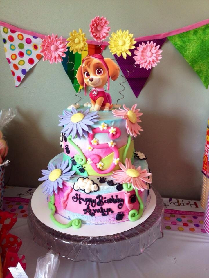 Best ideas about Paw Patrol Girl Birthday Cake . Save or Pin Paw patrol cake Ava E Pinterest Now.