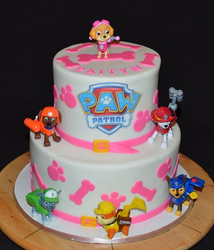 Best ideas about Paw Patrol Girl Birthday Cake . Save or Pin Skye is flying high atop this awesome PAW Patrol Birthday Now.