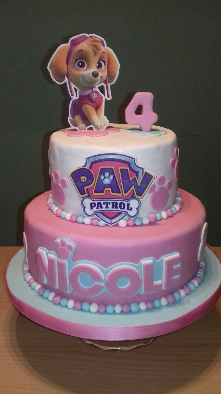 Best ideas about Paw Patrol Girl Birthday Cake . Save or Pin Paw patrol Paw patrol in 2019 Now.
