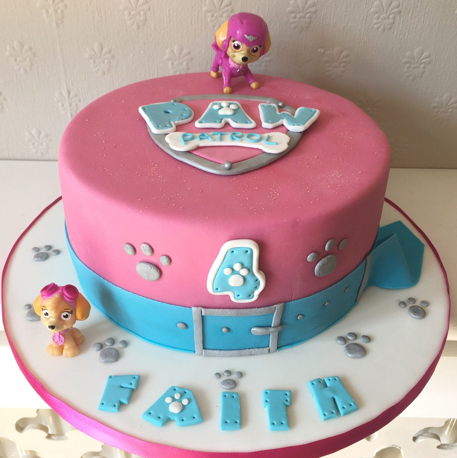 Best ideas about Paw Patrol Girl Birthday Cake . Save or Pin Paw Patrol Skye themed cake adele 3 Now.